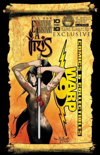 300 ASPEN! EXECUTIVE ASSISTANT IRIS #1 WARP 9 COMICS EXCLUSIVE VARIANT COVER