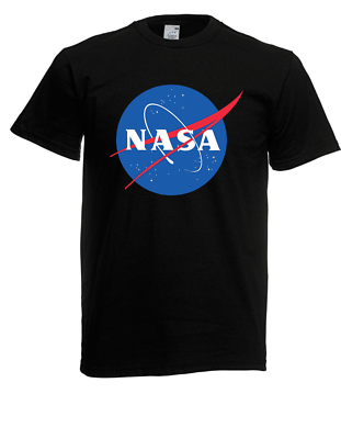 Herren T-shirt Nasa Logo Bis 5xl (spaß / Fun / Kult)