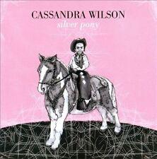 Silver Pony by Cassandra Wilson (CD, Nov-2010, EMI) NEW Promo