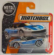 Matchbox 2017 Corvette Stingray 2015 Polizei MB1014 Brand new