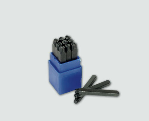 Mannesmann Number Punch Set//9pcs//10 mm//Métal Marquage//acier carbone GS TUV