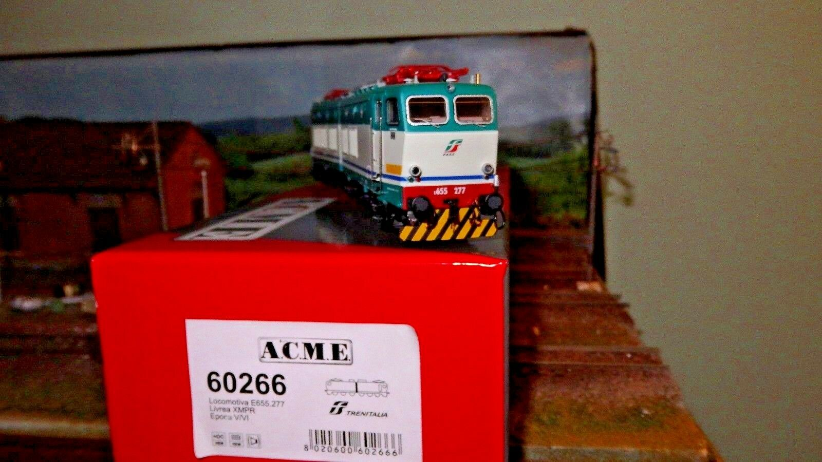 ACME 60266 E655 277 TERZA SERIE XMPR Trenitalia bilgo, nuevo logotipo FS