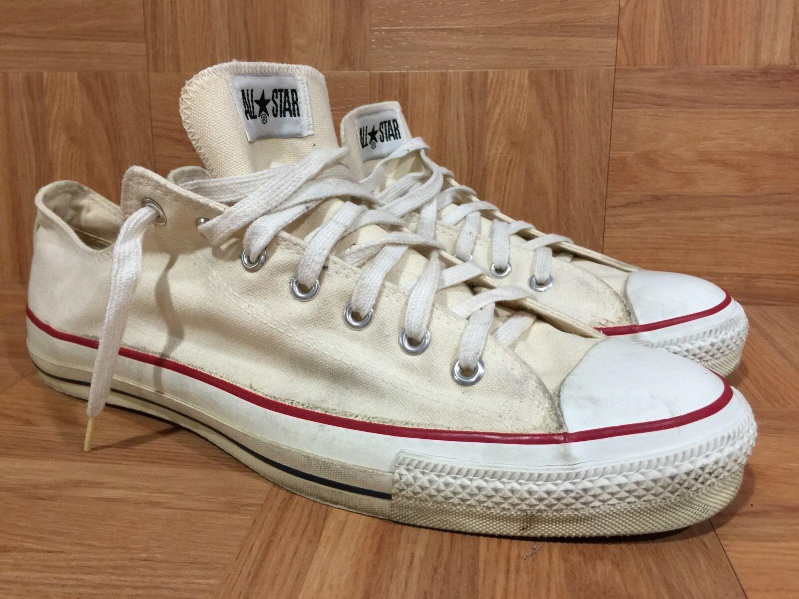 RARE     Converse Chuck Taylor Made In The  A     Classic Off White Sz 14.5 Chuck 6a11cc