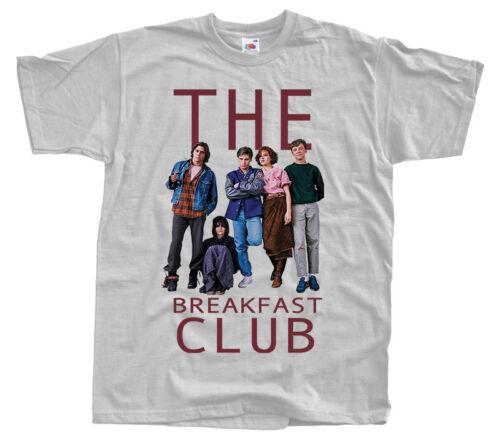 John Hughes 1985 DTG T SHIRT WHITE all sizes S-5XL The Breakfast Club V4