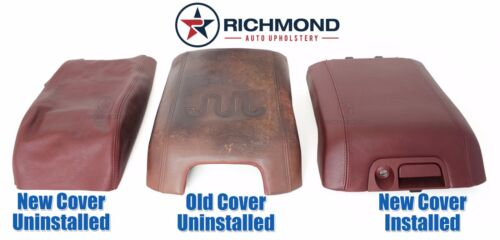 Center Console Lid Replacement Leather Cover 2013-2014 F250 F350 King Ranch