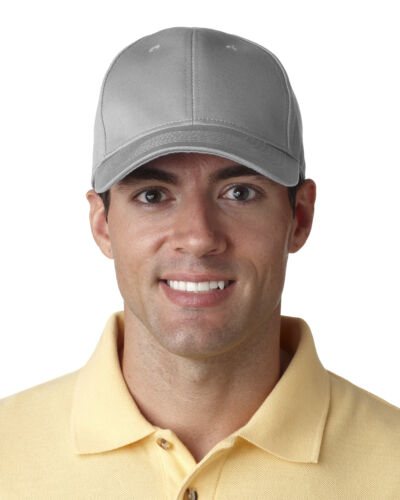 8101 UltraClub Classic Cut Chino Cotton Twill Constructed Hat