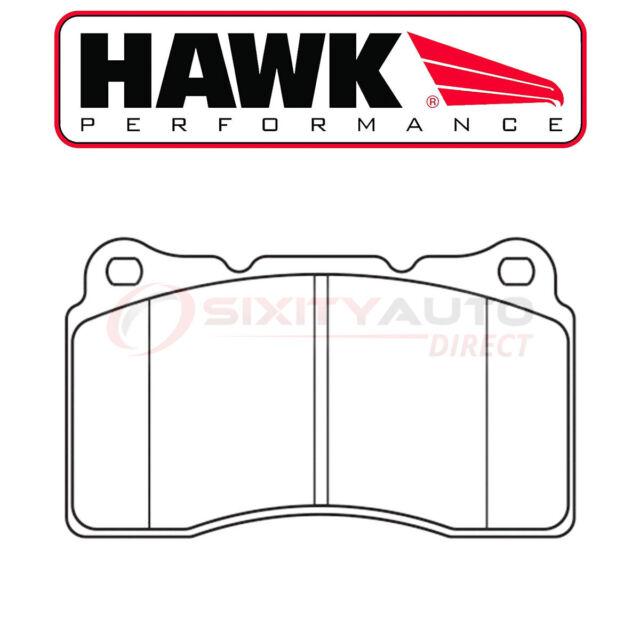 Hawk Street 5.0 Disc Brake Pads For 2004-2008 Acura TL 3