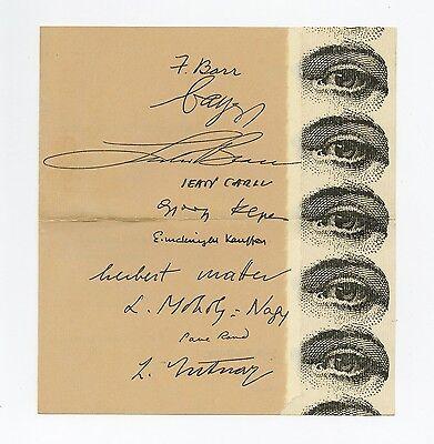 1942 György Kepes ADVANCE GUARD OF ADVERTISING ARTISTS Bayer Moholy-Nagy Sutnar