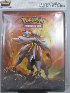 ULTRA-PRO-POKEMON-Sun-amp-Moon-9-POCKET-PORTFOLIO-PAGES-FOR-CARDS