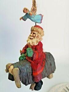 Hallmark-Keepsake-Ornament-Folk-Art-Americana-Guiding-Santa-1995