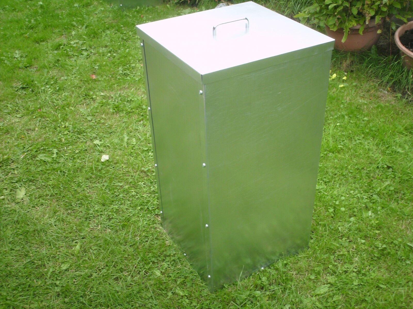 Sammelbehälter Kompost Brennholz Recycle bin Hundefutter für Katzen