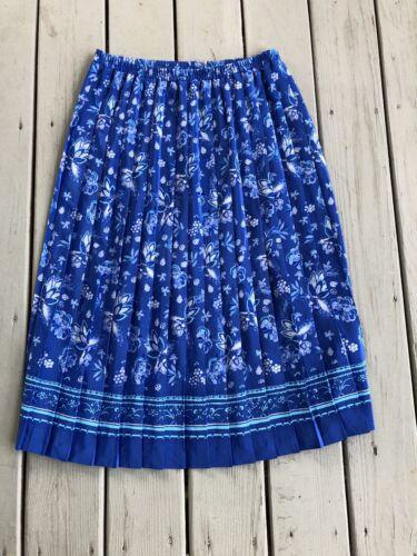 Vintage Leslie Fay Dresses Women Size 16 Floral Pl