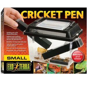Exo-Terra-Cricket-Pen-Small-Terrarium-fuer-Futterinsekten-Heimchen-Grillen-PT2285
