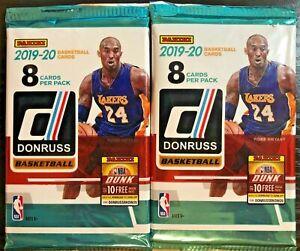 2019-20-Panini-Donruss-Basketball-Blaster-Box-Pack-HOT-LOT-OF-TWO-2-PACKS-ZION