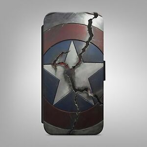 CAPTAIN-AMERICA-SHIELD-LEATHER-FLIP-WALLET-PHONE-CASE-COVER-FOR-IPHONE-SAMSUNG
