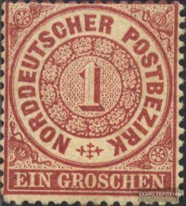 Norddeutscher-Postbezirk-16-fein-B-Qualitaet-gestempelt-1869-Groschen