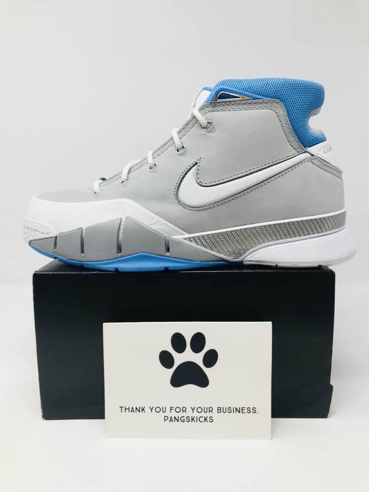 Nike Zoom Kobe 1 Predro 'MPLS' Wolf Grey White AQ2728-001 Size 8.5-14