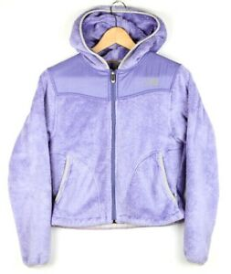961554b55 Details about The North Face Oso Women's XS Hooded Fleece Jacket Light  Purple Lavender