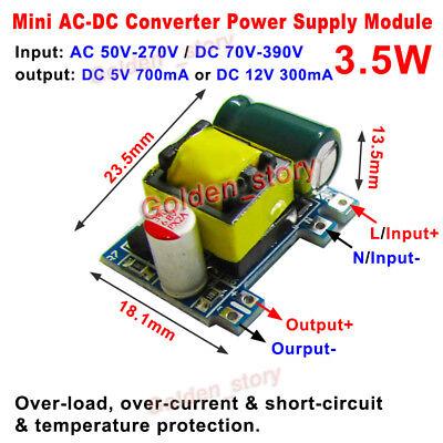 AC-DC 5V 700mA 3.5W AC 220V a 5V Dc Step Down Módulo de Fuente de alimentación