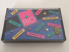 Avon Rock'n Rio 1988 Cassette New Don Johnson Elton John