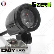 FEUX PHARE DE TRAVAIL ROND 10W LED LENTICULAIRE-CAMION BATEAU 4X4 12V/24V