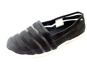 BOBBIE-BROOKS-Women-Size-6-9-10-Ladies-BLACK-Premium-Flats-Loafers