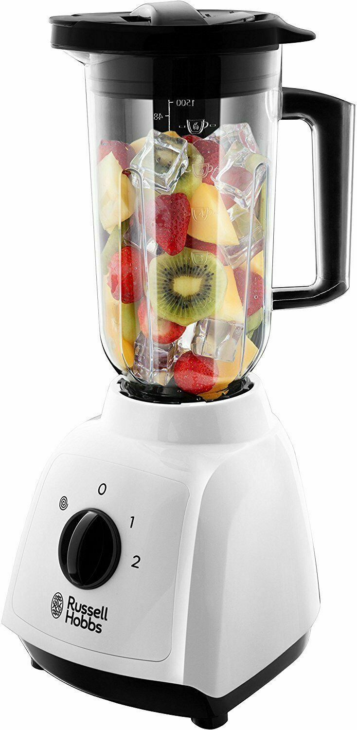 Russell Hobs Food Collection Jug Blender, 1.5L 400w 24610