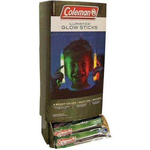 Bâton Coleman Lightsticks GloSticks 2//5//10 illumistick Glow Stick