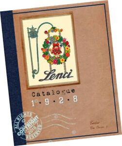 1928 lenci sales sample catalogue 150 felt dolls italy toys catalog