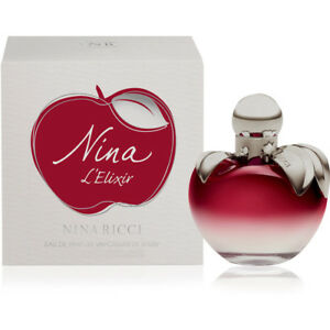 80ml 2.7 oz Nina l'elixir by Nina Ricci Eau De Parfum Spray Women Perfume RARE