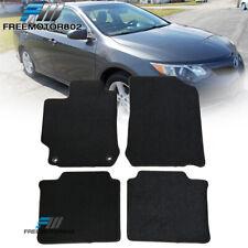 Fits 12 17 Toyota Camry Sedan Front Rear Floor Mats Carpet Black Nylon 4pc Set Fits 2012 Toyota Camry