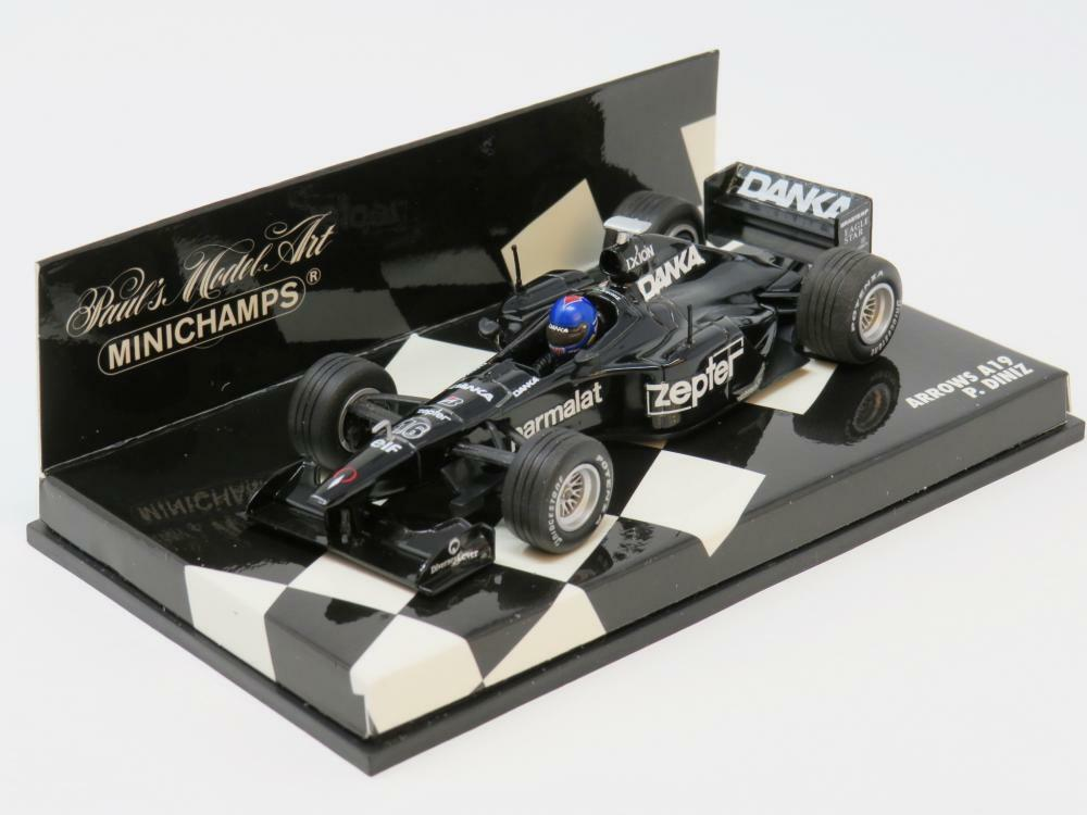 Minichamps F1 Diecast Model 430980016 Arrows A 19 P Diniz Diniz Diniz 1 43 Scale Boxed f1a4a2
