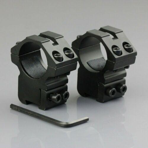 2pcs Monture de Lunette aux Montures de Rail de Picatinny de 11 mm Montage Solid