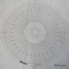 Optical Comparator Chart For Profile Projector Overlay Chart Mitutoyo 512073