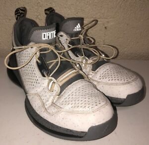 Perpetuo Aburrir Cabeza  Adidas Adiprene Mens DAME White/Gray Basketball Shoes Size 12.5 | eBay