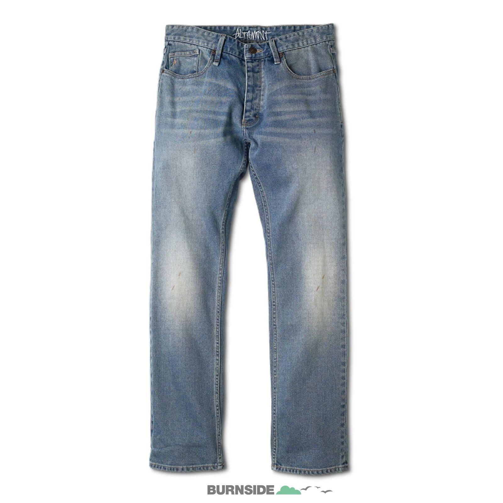 ALTAMONT Pant WILSHIRE STRAIGHT DENIM SP 14  Lange Jeans Hose Denim
