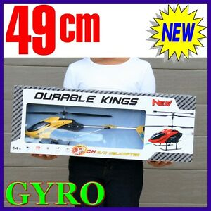 RC-3-GYRO-New-Remote-Control-Metal-Frame-Helicopter-3-5CH-BIG-not-mini-Gift-YELW
