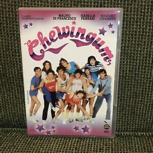 CHEWINGUM-DVD-Rare-1980s-Italian-teen-comedy-ITALO-DISCO-Isabella-Ferrari