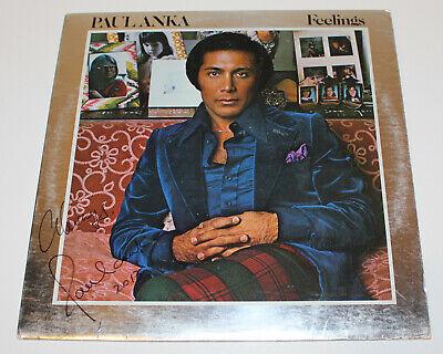 Contemplative Singer Paul Anka Signed Authentic Autograph Record Vinyl Lp 6 W/coa Songwriter Rock & Pop