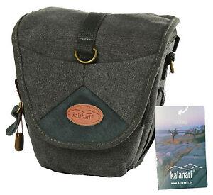 Kalahari-Foto-Tasche-fuer-Panasonic-Lumix-G70-GX8-G-70-System-Canvas-schwarz-K-42