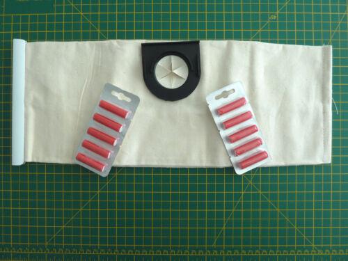 pacchetto di dieci ROSSO Aria Freshners Vax Wet /& Dry sacchetto di stoffa