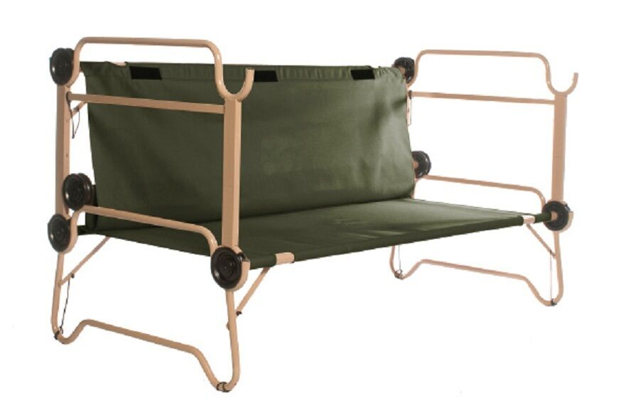 arm-o-bunk OUTDOOR CAMPING DOUBLE Domaine Domaine Domaine Cot Stock Lit US ARMY de camp a7d832