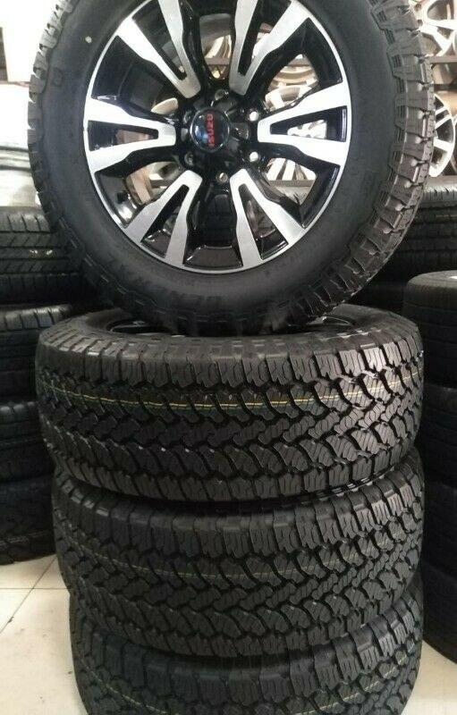 18inch Isuzu X-Rider mags with brand new 255/60/18 General Grabber AT3 set for R14000.