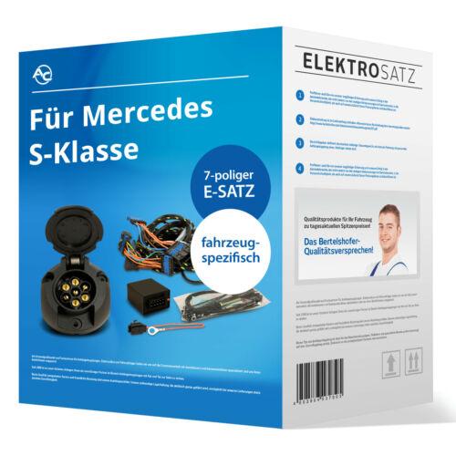 EBA AC sp Elektrosatz 7-pol für Mercedes S-Klasse Typ W222 Stufenheck 05.2014