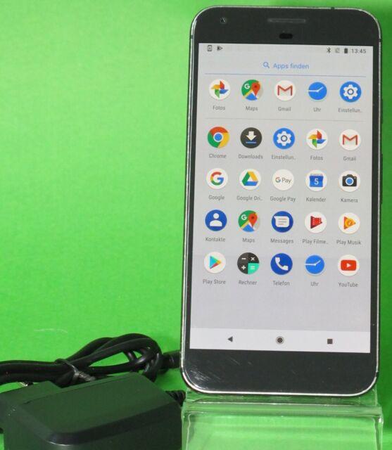 Google Pixel XL - 32GB - Quite Black (Ohne Simlock) Smartphone