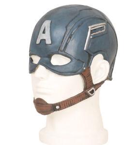 CAPTAIN-AMERICA-STEVE-ROGERS-Masque-Latex-Captain-America-helmet