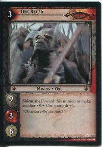 Lord-Of-The-Rings-CCG-Card-RotK-7-C304-Orc-Rager
