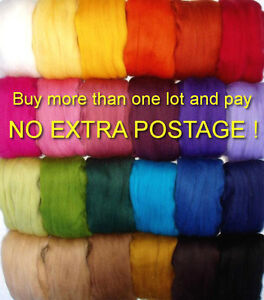 10g-super-soft-merino-wool-roving-felting-spinning-doll-hair-nuno-single-colours
