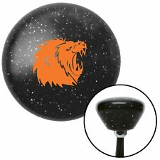 American Shifter 43930 Orange Metal Flake Shift Knob with 16mm x 1.5 Insert Orange Turtle w//Flower