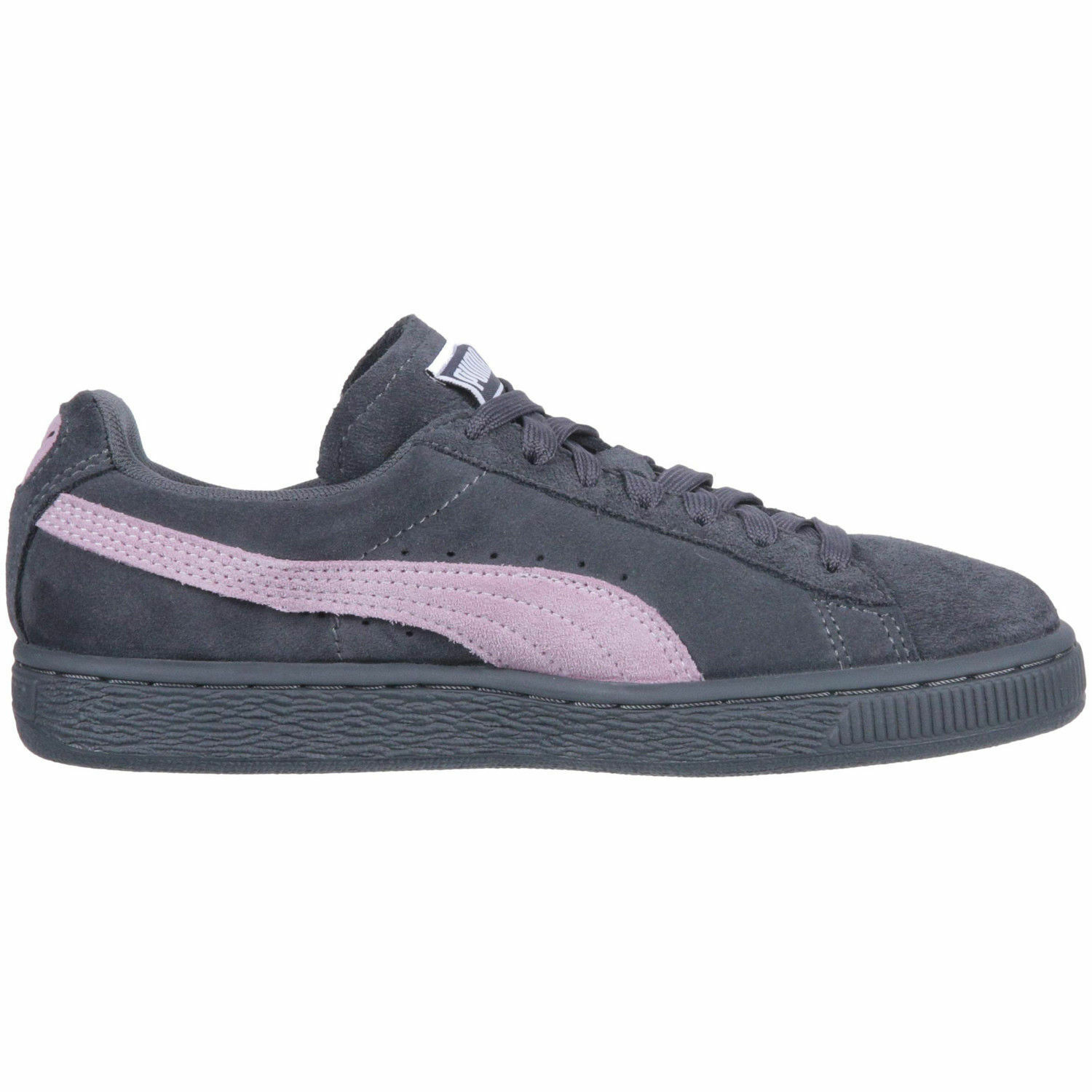 WOMEN'S Iron PUMA SUEDE CLASSIC  POM 355462-77  Iron WOMEN'S Gate / Winsome Orchid 66f5a4